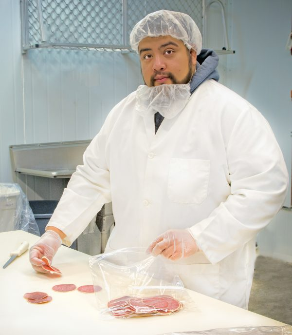 USDA Employee performing inspection