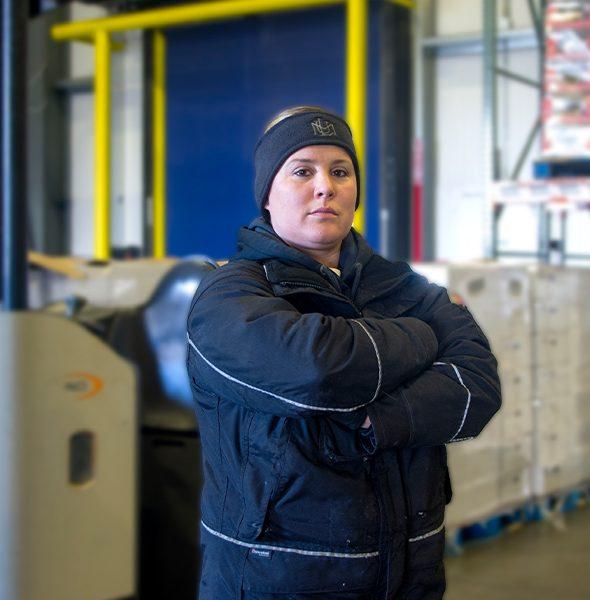 Cold Storage Female Personel
